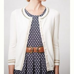 Anthropologie | Sparrow Cardigan with Gold Detail